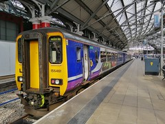 Lime Street 156 (JohnGreyTurner) Tags: br rail uk railway train transport wirral merseyrail mersey liverpool lancashire emu 156 class156 dmu