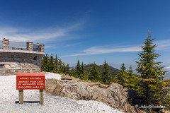 Highest Peak East of Mississippi River (John H Bowman) Tags: northcarolina ncmountains yanceycounty parks stateparks mtmitchellstatepark nationalparks blueridgeparkway mountainviews signs stonework blueskywispyclouds april2019 april 2019 canon24704l