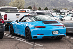 Great Color (Hunter J. G. Frim Photography) Tags: supercar colorado porsche 911 carrera gts riviera blue german convertible i6 targa porsche911carreragts 991 rivierablue