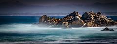 Rock in the Mist No2 (CDay DaytimeStudios w /1 Million views) Tags: ca pebblebeach water 17miledrive pacificcoasthighway bluesky california highway1 montereyca pacificgrove carmelca ocean pacificcoast beach sky seascape coastline landscape rocks montereybay