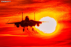 F-15E Strike Eagle, Sunset (Nigel Blake, 18.5 MILLION views! Many thanks!) Tags: f15e strike eagle raflakenheath nigelblakephotography nigelblake sunset dynamic edit editing aurorahdr2019