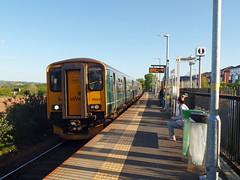 150247 Newcourt (Marky7890) Tags: gwr 150247 class150 sprinter 2b84 newcourt devon avocetline railway train