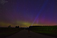 Victory (Winglet Photography) Tags: selfie cecil victory wingletphotography northernlights auroraborealis georgewidener stockphoto solarstorm aurora geomagnetic earth sun wisconsin canon 7d storm solar georgerwidener night nighttime longexposure dark inspiration lights colors sky nature