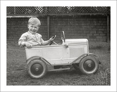 Vehicle Collection (9708) - Pedal Car (Steve Given) Tags: familycar motorvehicle automobile boy kids child toy pedalcar
