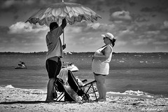 Umbrella Man (Alfredo Rafael) Tags: beach panhandle