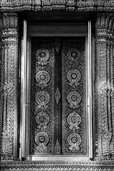 Mother of Pearl Inlay Windows, Phra Ubosot, Wat Ratchabophit (aey.somsawat) Tags: architecture bangkok buddhisttemple motherofpearlinlay ornaments ornamentsinthaiarchitecture temple thaiarchitecture thailand ubosot wat watratchabophit