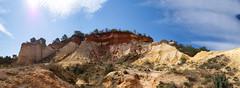 Le colorado provençal (CloR13) Tags: paysage falaise rouge blanc colorado provence provençal