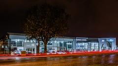 Autobar night (camiloriosg) Tags: 1855fuji osorno chile autobar volvo jaguar land rover ford schow showroom fujifilm fuji fujista xt30 fujinon luz light noche night red rojo