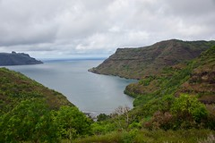Nuku Hiva view 2 (jjknitis) Tags: 2019 cruise eurodam hollandamerica island march30 marquesas nukuhiva polynesia southpacific view