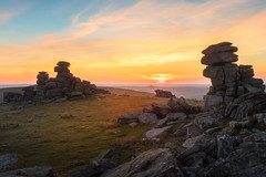 Great Staple Tor (Rich Walker Photography) Tags: dartmoor devon landscape landscapes landscapephotography tor sunset sky england canon efs1585mmisusm eos eos80d