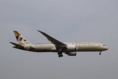 Etihad Airways B789, A6-BLI, LHR (LLBG Spotter) Tags: lhr b787 aircraft egll airline a6bli etihadairways