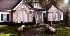 Rivercrest (Alexa Maravilla/Spunknbrains) Tags: secondlife sl decor decoration home architecture house onsu studioskye botanical happymood theblackforest photography outdoors tree virtualliving virtual