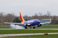 N7824A (320-ROC) Tags: southwestairlines southwest n7824a boeing737 boeing737700 boeing7377bk boeing 737 737700 7377bk b737 kroc roc rochester rochesterairport rochestermonroecountyairport rochestermonroecountyinternationalairport rochesterinternationalairport newyorkstate