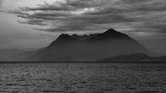 Cloudy (andbog) Tags: piedmont piemonte 169 16x9 widescreen it italy italia nature natura lago lake panorama paesaggio landscape water acqua sony alpha ilce a6000 sonya6000 emount mirrorless csc sonya sonyα sonyalpha sony⍺6000 sonyilce6000 sonyalpha6000 ⍺6000 ilce6000 apsc 1650mm selp1650 sel oss clouds nuvole lagomaggiore verbano lakemaggiore stresa vb mountains montagne alps alpi cloudy nuvoloso monochrome biancoenero bw bn googlenikcollection silverefexpro2 layers