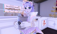 Sweet Treat (SerenitySemple) Tags: secondlife sl furry fashion barerose junkfood gachagarden gacha amitomo anime animehead mokyu maitreya kawaii