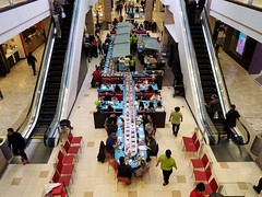 Sushi-go-round (streetravioli) Tags: street photography maryland washington dc tysons corner mall conveyor belt sushi virginia