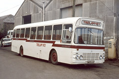 It is a long way from Glasgow ! (AndrewHA's) Tags: cornwall independent bus operator trelawney tours pollard leyland panther psur alexander w pys990g second hand glasgow corporation ls 37