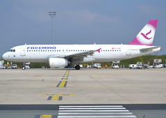 TC-FBR, Airbus A320-232, c/n 2524, FH-FHY-Freebird Airlines, CDG/LFPG 2019-04-14, departing Quebec ramp @ Terminal T3. (alaindurandpatrick) Tags: fh fhy freebirdairlines airlines tcfbr cn2524 a320 a320200 airbus airbusa320 airbusa320200 minibus jetliners airliners cdg lfpg parisroissycdg airports aviationphotography
