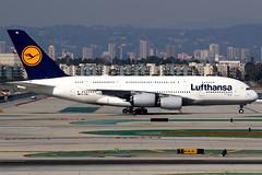 Lufthansa | Airbus A380-800 | D-AIML | Los Angeles International (Dennis HKG) Tags: aircraft airplane airport plane planespotting staralliance canon 7d 100400 losangeles klax lax lufthansa dlh lh daiml airbus a380 a380800 airbusa380 airbusa380800