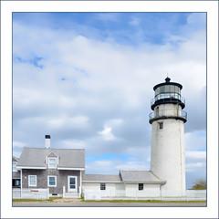 Highland Light (Timothy Valentine) Tags: capecod 0419 large lighthouse friday 2019 fence northtruro massachusetts unitedstatesofamerica
