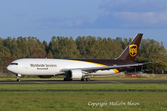 B767-346ER(F) N364UP UPS (shanairpic) Tags: jetairliner shannon b767 boeing767 freighter ups n364up
