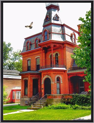 Albion NY ~ Judge White House 1879 ~ Historic