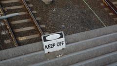 Jolimont Rail Yards, Melbourne (Josh Khaw) Tags: melbourne australia city urban sign signage tin roof