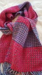 3 shaft twill on rigid heddle loom (Sweet Annie Woods) Tags: