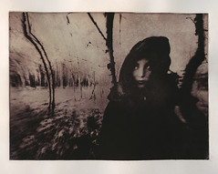 Cry Wolf (micalngelo) Tags: photogravure solarplategravure photoetching printmaking intaglio contactprint alternativeprocess alternativephotography