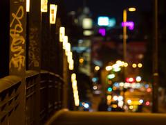 City Lights (Lumen Candela) Tags: city berlin germany night lights colors colorful farben stadt brücke bridge