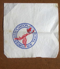 An Old Royal Air Force Association Paper Napkin (Kelvin64) Tags: an old royal air force association paper napkin