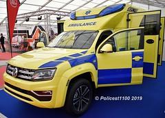 Tamlans (Finland) VW Amarok Ambulance (policest1100) Tags: tamlans findland vw amarok ambulance
