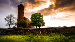 Church in Inowlodz (Andrzej Kocot) Tags: andrzejkocot art architecture adventure landscape landscapes creative clouds colors light olympus