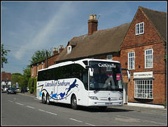 Catteralls BU18 YNV (Jason 87030) Tags: catteralls southam dunchurch village warwickshire warks cat jump leap logo livery coach transport shot shoot may 2019 merc mercedes benz travel anything everything wheels all sony alpha a6000 lens tag flickr uk england sunny lighting weather vehicle