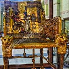 Tutankhamun's golden throne (Amberinsea Photography) Tags: tutankhamun goldthrone throne amarna ancientegypt ancient goldtreasure tut cairo thecairomuseum egyptianmuseumcairo egyptian egypt amberinseaphotography aten amun akhenaten ankhesenamun art ancientart ancientegyptianart amarnaart kingtut pharaoh