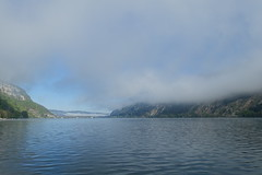 Fog @ Nantua Lake @ Hike around Lac de Nantua