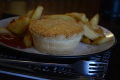 Steak & Kidney Pie & Chip Supper (Clint__Budd) Tags: 119picturesin2019 everyonelovespie