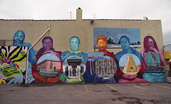 Sunset Park (neilsonabeel) Tags: nikonfe2 nikon nikkor film analogue streetart mural brooklyn newyorkcity sunsetpark school