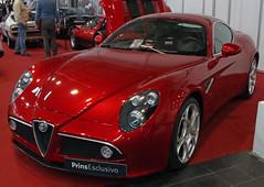 8C (Schwanzus_Longus) Tags: techno classica essen german germany italy italian modern car vehicle coupe coupé sport sports alfa romeo 8c
