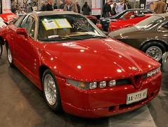 SZ (Schwanzus_Longus) Tags: techno classica essen german germany italy italian old classic vintage car vehicle coupe coupé alfa romeo sz