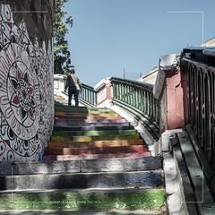 CURVE/COURBE N°244 (A_TAIBI) Tags: algeria oran algérie escaliers stairs gare