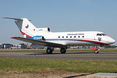0260 13052019 (Tristar1011) Tags: ebbr bru brusselsairport czechairforce yakolev yak40 yk40 0260 jak40