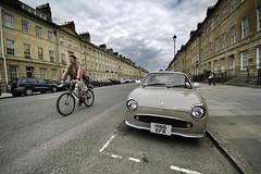 Bath, Straßenszene