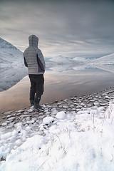 A Bhraoin still (donnnnnny) Tags: lochabhraoin loch mountains winter ice snow selfie nikond850 zeiss21mm highlands scotland