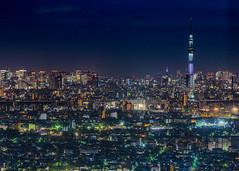 Jewelry box (yasky0786) Tags: tokyo night skytree tower スカイツリー 東京 夜景 asiafavorites happyplanet