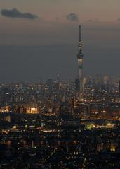 Beginning of the night (yasky0786) Tags: tokyo night skytree tower スカイツリー 東京 夜景 asiafavorites happyplanet