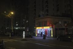 Paris, mars 2019. (Le Cercle Rouge) Tags: paris france night nuit darkness light humans shadows silhouettes nocturne restaurant graff graffiti streetart flop tag handstyle ruedufaubourgsaintantoine 75012 nation