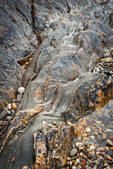 rock | Skipness beach | Kintyre (Weir View) Tags: photo intimatelandscape rock coast abstract skipnessbeach argyll scotland kintyre