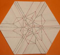 0-Himalayan summit molecule (mganans) Tags: origami tessellation