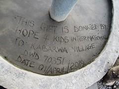 Thank you for this gift of life-saving water! (W4KI) Tags: w4ki water safe clean h4ki restore hope 4pillarsofhope dignityhealthjoylove dignity health joy love transform village community kabarwa uganda